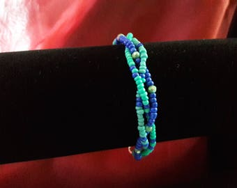 Baby Blue Braided Bracelet