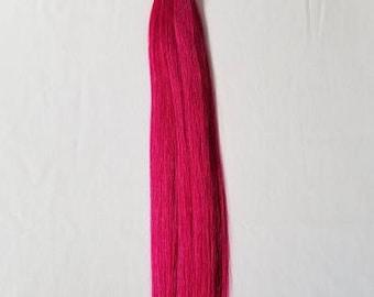 "18"" (50 Grams,50 Strands OR 100 Grams,100 Strands),Stick (I) Tip Human Hair Extensions # Magenta"