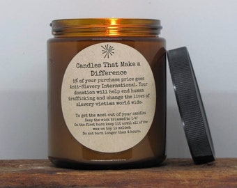 NEW! Nordic Spa- Natural Soy Candle for a Cause