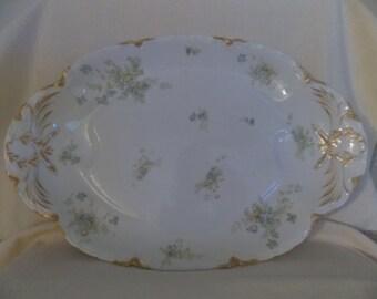 Serving, Platter, HAVILAND-FRANCE for R.B. Gray Co.