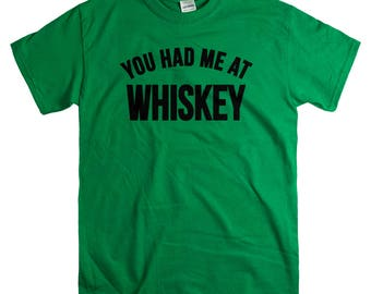 Whiskey Gift - Father's Day Gifts - Whiskey Lover Tshirt for Men - Funny Drinking Tshirts