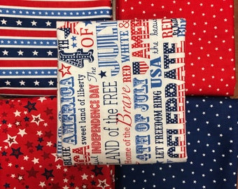 America half yard  Bundle (5)