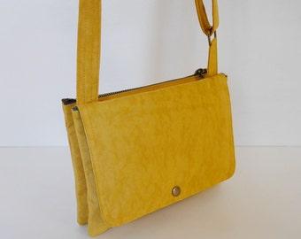 Sale -  Water Resistant Nylon Messenger Bag - Shoulder bag, Cross body, Hip bag, Travel bag, Women - WENDY