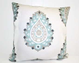 Decorative Premier Prints DamaskTwill Pillow Cover, Throw Pillow 18x18