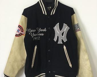 Vintage New York Yankees 1952 World Series Bomber Jacket
