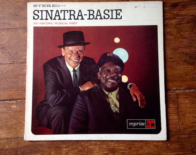 1962 Sinatra - Basie: An Historical Musical First 33RPM Record R9-1008. Frank Sinatra and Count Basie. VG Sleeve, VG+ Media. Reprise Records