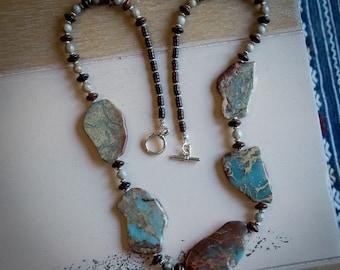 Aqua Terra Jasper Necklace