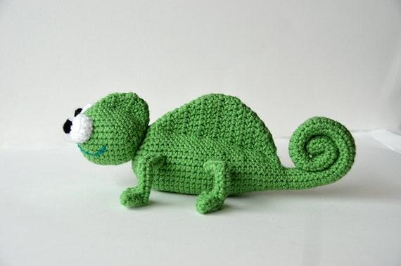 Chameleon Crochet Pattern Amigurumi Chameleon Pattern