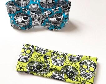 Skull baby headband