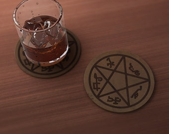 Devil's Trap (Supernatural) Geek Drink Coaster