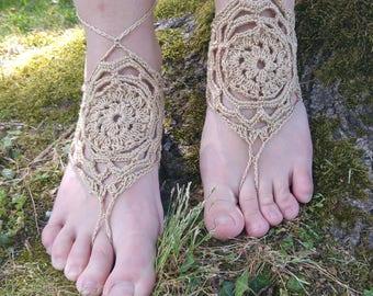 Foot crocheted jewelry