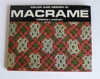 Color And Design In Macrame Virginia Harvey 1967