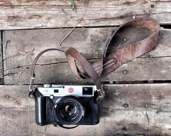 Special Handmade Leather Camera Strap