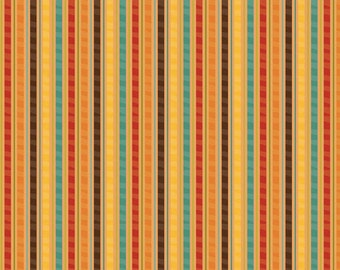 Giraffe Crossing - Giraffe Stripe Orange - Fat Quarter  Cut - Riley Blake Designs - Cotton Fabric