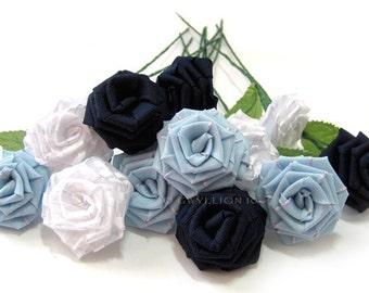 True Blue Rose Bouquet