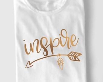 Inspire - Hand lettered SVG