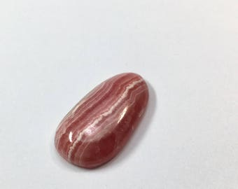 Gorgeous Rhodochrosite cabochon ON *SALE,FREE shipping to usa & canada**