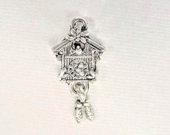 23mm*13mm, 5CT, Coo Coo Clock Charms, Y52