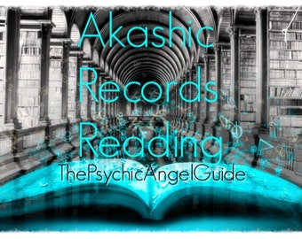 AKASHIC RECORDS READING Video format plus .Jpg