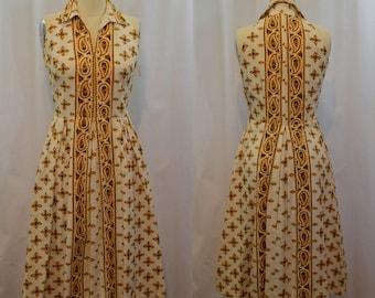 Vintage Toni Todd Sleeveless Dress