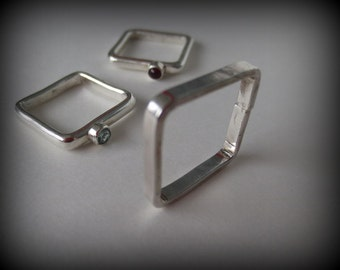 3mm Square RIngs