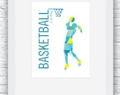 Girls Basketball Print, B...