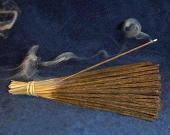 White Amber  Incense Double Dipped and Handmade
