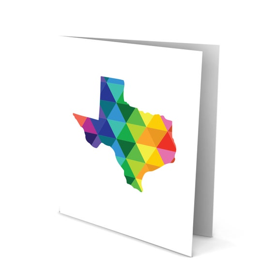 Everything is Bigger in Texas Silhouette Greeting Card