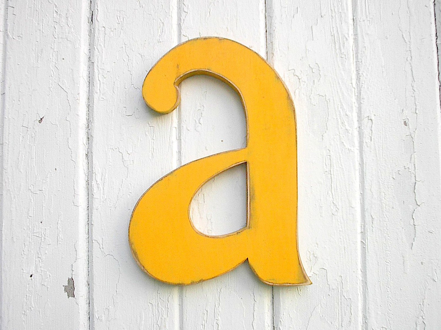 Wooden Letters Shabby chic a 12 inch nursery wall