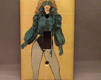 Kitty Pride X-Men light switch cover double toggle