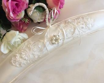 Bridal Dress Hanger, Lace Dress Hanger, Silk Dress Hanger, Wedding Dress Hanger, Bridal Gift, Bridal Gown Hanger, Padded Hanger