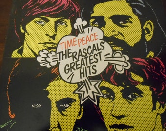 The Rascals Greatest Hits- Time Peace- vinyl record