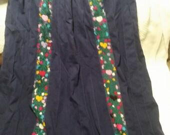 vtg embroidered mummu dress