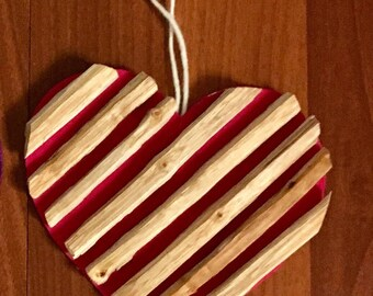 Holiday Heart Ornament