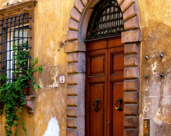 Travel Photography-Doorway in Tuscany - Architectural, Italian, Tuscan, Doorway, Fine Art Photography