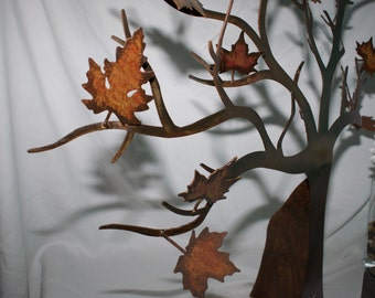 Hand painted Fall Tree