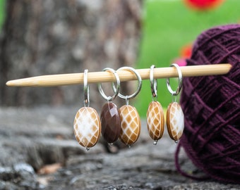 Dangle Ring Stitch Marker - Fits up to 10mm/US 15 needles