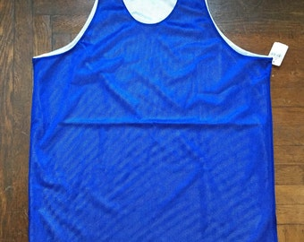 vintage russell athletic reversible mesh jersey tank mens size XL