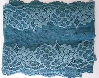 Beautiful floral stretch wide lace