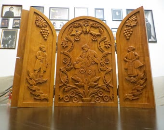 Wood Carving Gates