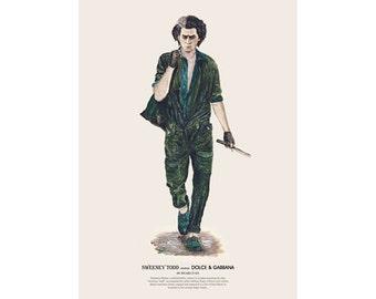 He Wears It 025 - Sweeney Todd wears Dolce & Gabbana