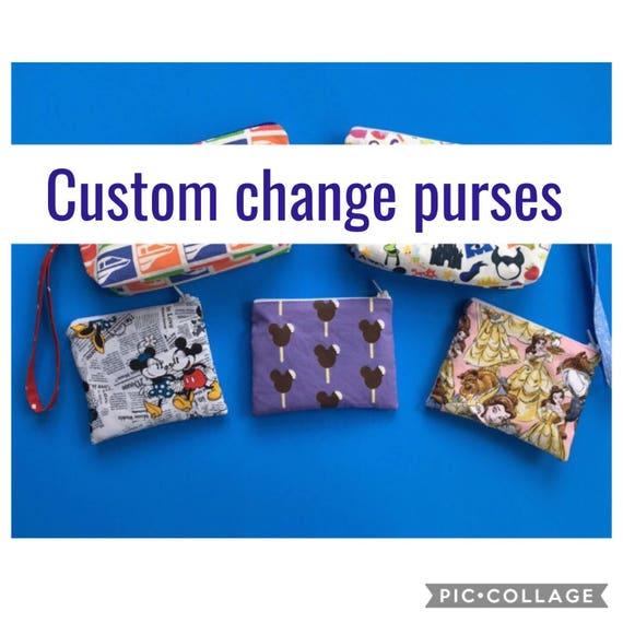 Cheap Design Changes That Have: Custom Change Purses