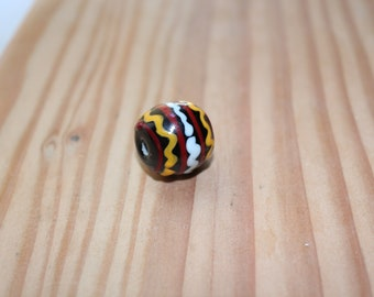 viking glass bead from stockholm muséum