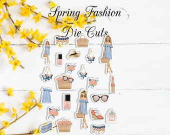 NEW* Spring Fashion Die Cuts