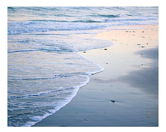 Beach Photography, Sand, Sea, Ocean Photography, Coastal Home Decor, Sunset Beach Print, Cindy Taylor Print