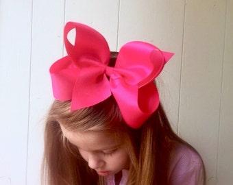 Big hair bow, Hair bow, Headband, Hair bows for girls, Headbands for babies, Toddler hair accessory, Boutique Hair Bows