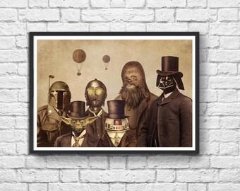 Art-Poster 50 x 70 cm - Star Wars Vintage