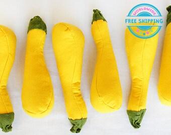 Felt Vegetables / Felt cabbage / Felt Play Food set / Pretend Play / Kids garden set / Play Kitchen food