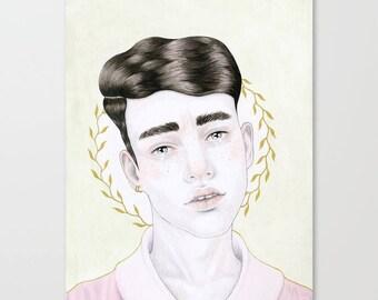 Original Illustration • Boys Do Cry #2