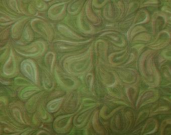 "Paisley Printed Fabric, Multicolor Fabric, Home Decoration, Chiffon Dress, 42"" Inch Chiffon Fabric By The Yard ZBCH127A"